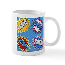 Comic Book Bursts Pow! 3D Mugs