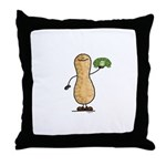 Turtle Nut Throw Pillow