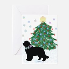 Yuletide Newf! Christmas Cards Greeting Cards