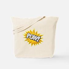 Comic Book Burst Pow! 3D Tote Bag