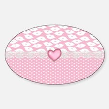 Pucker Up Sticker (Oval)