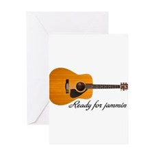 ready for jammin Greeting Card