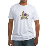 Scrapbooking Nut Fitted T-Shirt