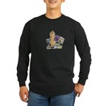 Scrapbooking Nut Long Sleeve Dark T-Shirt
