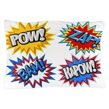 Comic Book Bursts Pow! 3D Pillow Case