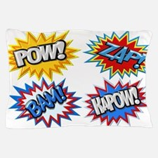 Comic Book Bursts Pow! 3D Pillow Case