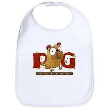 Pug Person Bib