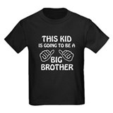 Big brother to be Kids T-shirts (Dark)