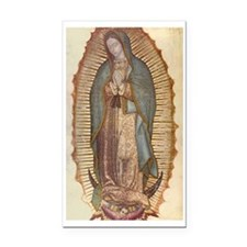 Our Lady Of Guadalupe Rectangle Car Magnet