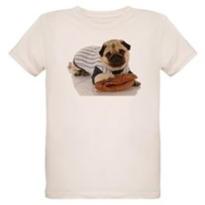 Baseball Pug T-Shirt