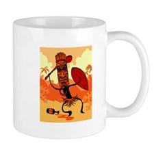 Angry Tiki Coffee Mug