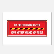 I'm the Euphonium Player Postcards (Package of 8)