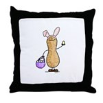 Easter Nut Throw Pillow