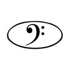 Bass Clef - Music Symbol Patches