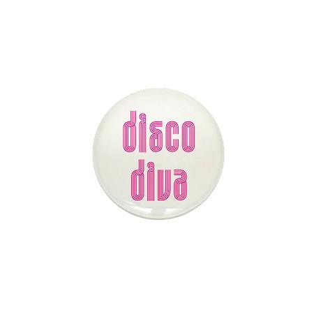 Disco Diva Mini Button (100 pack)