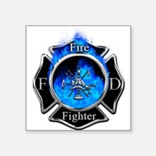 Firefighter Maltese Cross Sticker