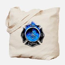 Firefighter Maltese Cross Tote Bag