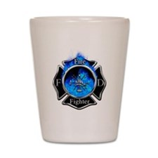 Firefighter Maltese Cross Shot Glass