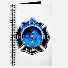 Firefighter Maltese Cross Journal