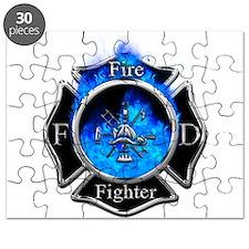 Firefighter Maltese Cross Puzzle