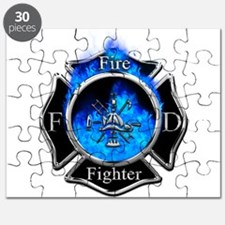Firefighter Maltese Cross Puzzle