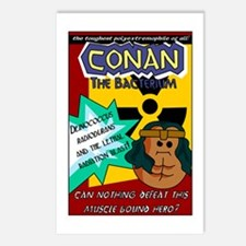 Conan the Bacterium Postcards (Package of 8)