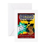 Conan the Bacterium Greeting Cards (Pk of 10)
