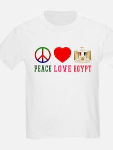 Peace Love Egypt T-Shirt