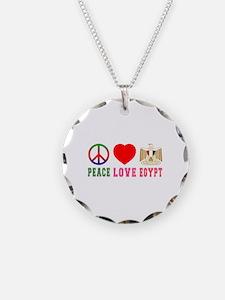 Peace Love Egypt Necklace