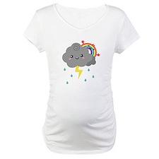 Kawaii Rainbow Behind Every Dark Cloud Shirt