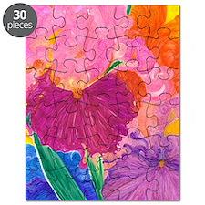 Crazy Color Mixed Up Iris Puzzle