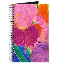 Crazy Color Mixed Up Iris Journal