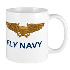 Naval Aviator Officer Wings Mug
