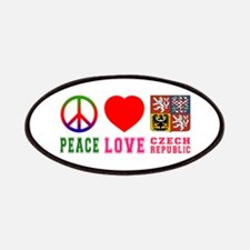 Peace Love Czech Republic Patches