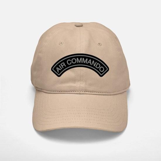 Air Commando Rocker Tab Baseball Baseball Baseball Cap