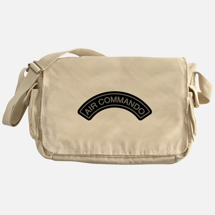 Air Commando Rocker Tab Messenger Bag