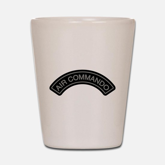 Air Commando Rocker Tab Shot Glass