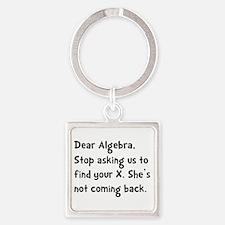 Dear Algebra Keychains