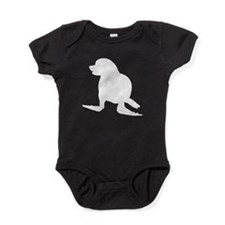 Seal Silhouette Baby Bodysuit
