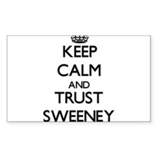 Keep calm and Trust Sweeney Decal