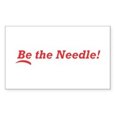 Be the Needle! Decal