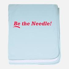 Be the Needle! baby blanket