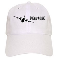 Give War a Chance Baseball Baseball Cap