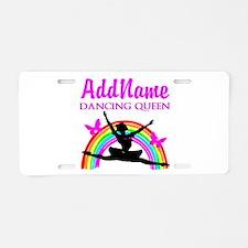 BORN TO DANCE Aluminum License Plate