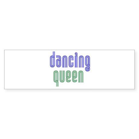 Dancing Queen Bumper Sticker