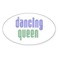 Dancing Queen Oval Decal