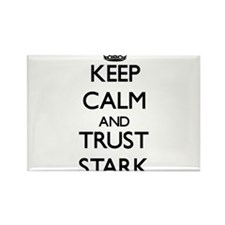 Keep calm and Trust Stark Magnets