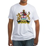 Alberta Coat Of Arms Fitted T-Shirt