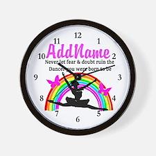 INSPIRING DANCER Wall Clock