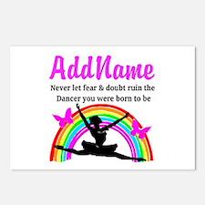 INSPIRING DANCER Postcards (Package of 8)